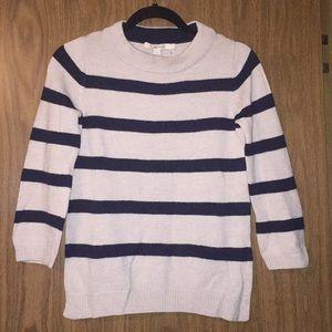 Biden striped sweater